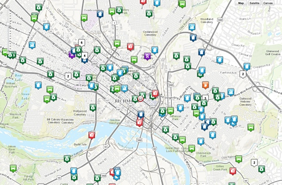 Richmond Police unveil crime mapping website