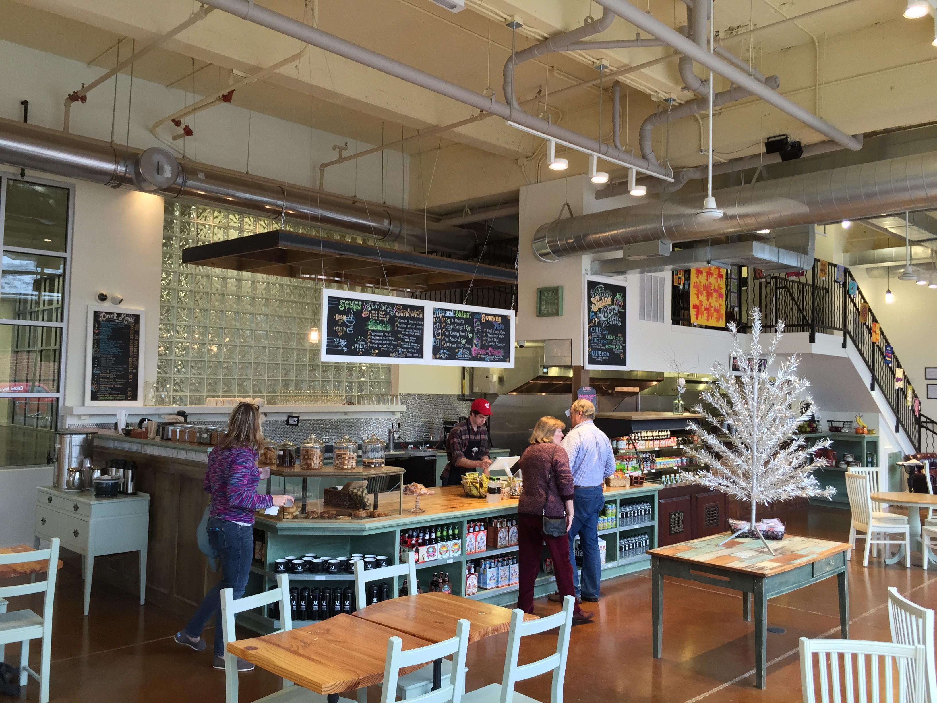 photos: the urban farmhouse market & café opens in scott's addition